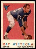 1959 Topps #99 Ray Wietecha G Good
