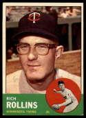 1963 Topps #110 Rich Rollins G Good mark