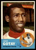 1963 Topps #122 Julio Gotay G Good mark