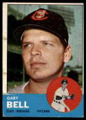 1963 Topps #129 Gary Bell G Good