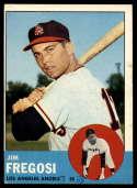 1963 Topps #167 Jim Fregosi G Good mark