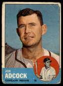 1963 Topps #170 Joe Adcock G Good