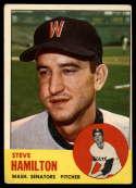 1963 Topps #171 Steve Hamilton G Good mark RC Rookie