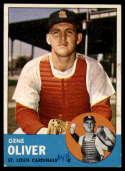 1963 Topps #172 Gene Oliver G Good mark