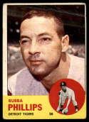 1963 Topps #177 Bubba Phillips G Good