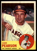 1963 Topps #182 Albie Pearson P Poor pin hole