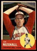 1963 Topps #194 Joe Nuxhall VG/EX Very Good/Excellent