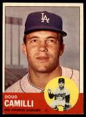1963 Topps #196 Doug Camilli NM Near Mint