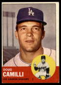 1963 Topps #196 Doug Camilli EX Excellent