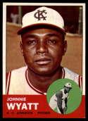 1963 Topps #376 John Wyatt NM Near Mint RC Rookie