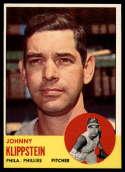 1963 Topps #571 Johnny Klippstein NM Near Mint