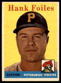1958 Topps #4 Hank Foiles NM Near Mint