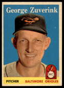 1958 Topps #6 George Zuverink EX/NM
