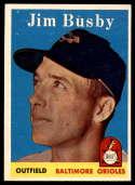 1958 Topps #28 Jim Busby EX/NM