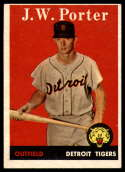 1958 Topps #32 J.W. Porter EX Excellent