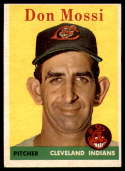 1958 Topps #35 Don Mossi UER EX Excellent
