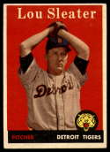 1958 Topps #46 Lou Sleater UER EX/NM