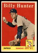 1958 Topps #98 Billy Hunter VG/EX Very Good/Excellent