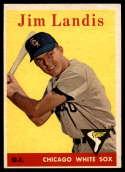 1958 Topps #108 Jim Landis EX++ Excellent++