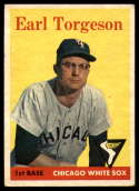 1958 Topps #138 Earl Torgeson EX Excellent