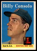 1958 Topps #148 Billy Consolo UER EX/NM