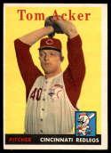 1958 Topps #149 Tom Acker EX Excellent