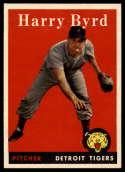 1958 Topps #154 Harry Byrd NM Near Mint