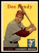 1958 Topps #157 Dee Fondy NM Near Mint