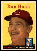1958 Topps #160 Don Hoak NM Near Mint
