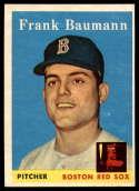 1958 Topps #167 Frank Baumann EX++ Excellent++ RC Rookie