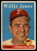 1958 Topps #181 Willie Jones G/VG Good/Very Good