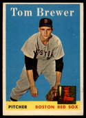 1958 Topps #220 Tom Brewer UER EX++ Excellent++