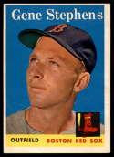 1958 Topps #227 Gene Stephens EX Excellent