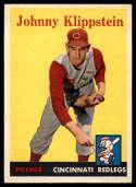1958 Topps #242 Johnny Klippstein EX/NM