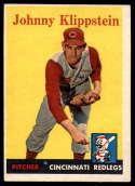 1958 Topps #242 Johnny Klippstein EX Excellent
