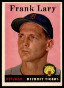 1958 Topps #245 Frank Lary EX++ Excellent++
