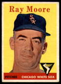 1958 Topps #249 Ray Moore EX Excellent