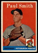 1958 Topps #269 Paul Smith EX Excellent