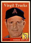 1958 Topps #277 Virgil Trucks EX/NM