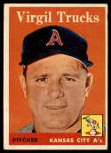 1958 Topps #277 Virgil Trucks EX Excellent