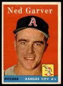 1958 Topps #292 Ned Garver EX/NM