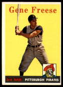 1958 Topps #293 Gene Freese EX++ Excellent++