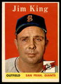 1958 Topps #332 Jim King EX++ Excellent++