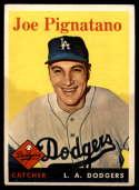 1958 Topps #373 Joe Pignatano VG Very Good RC Rookie