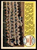 1958 Topps #71 Dodgers Team EX/NM