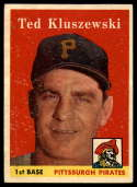 1958 Topps #178 Ted Kluszewski EX Excellent