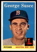 1958 Topps #189 George Susce VG/EX Very Good/Excellent