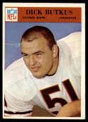 1966 Philadelphia #31 Dick Butkus VG Very Good RC Rookie