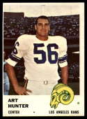 1961 Fleer #104 Art Hunter EX Excellent