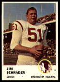 1961 Fleer #113 Jim Schrader NM Near Mint